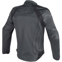 Dainese Fighter Leather Jacket Black - 2