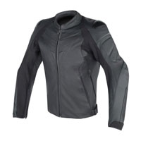Dainese Fighter Leather Jacket Black