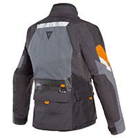 Dainese Gran Turismo Gore-tex Jacket Black Orange