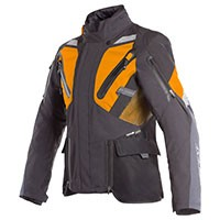 Dainese Gran Turismo Gore-tex Jacket Black Orange