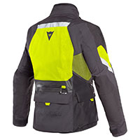 Dainese Gran Turismo Gore-tex Jacket Black Fluo Yellow