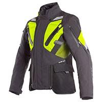Dainese Gran Turismo Gore-tex Jacket Black Fluo Yellow