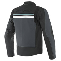 Dainese Hf 3 Leather Jacket Black Grey