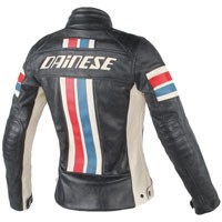 Dainese Lola D1 Lady Leather Jacket Perforated Black/ice