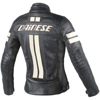 Dainese Hf D1 Leather Jacket Black/ice