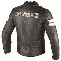 Dainese Hf D1 Leather Jacket Black/ice