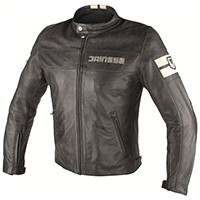 Dainese Hf D1 Leather Jacket Perforated Black/ice