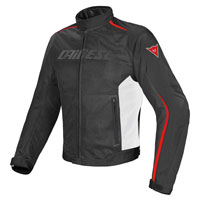 Dainese Giacca Hydra Flux D-dry Nero Bianco Rosso