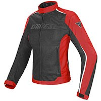 Dainese Giacca Hydra Flux D-dry Lady Rosso Donna