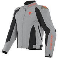 Dainese Indomita D-dry Xt Jacket Grey Fluo Red