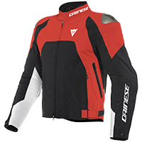 Dainese Indomita D-dry Xt Jacket Lava Red Black