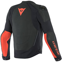 Giacca Pelle Dainese Intrepida Air Rosso