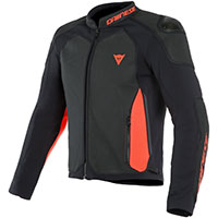 Dainese Intrepida Air Leather Jacket Red
