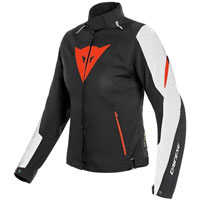 Dainese Laguna Seca 3 Lady D-dry Jacket White Red
