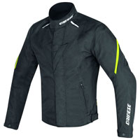 Dainese Laguna Seca D1 D-dry Jacket Black Yellow