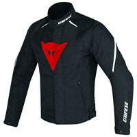 Dainese Laguna Seca D1 D-dry Jacket Black Red