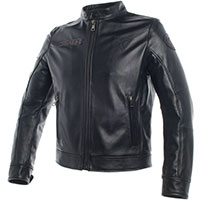 Dainese Legacy Leather Jacket Black