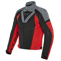Dainese Levante Air Jacket Black Grey Red