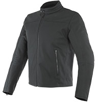 Dainese Mike 2 Leather Jacket Black