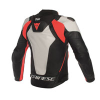 Dainese D-air® Jacket Misano 1000 Bianco Rosso Nero