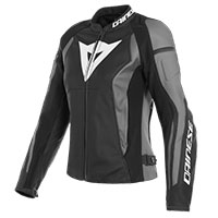 Dainese Leather Jacket Nexus Lady Black