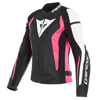 Dainese Leather Jacket Nexus Lady Pink