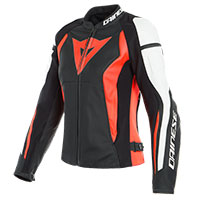 Dainese Leather Jacket Nexus Lady Red