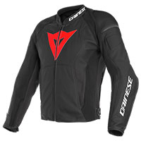 Dainese Leather Jacket Nexus Red