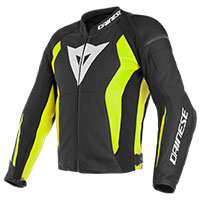 Dainese Leather Jacket Nexus Yellow