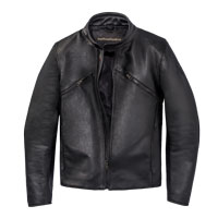 Dainese Prima72 Leather Jacket Black