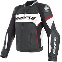 Giacca Traforata Dainese Racing 3 D Air® Bianco