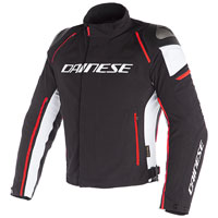 Dainese Racing 3 D-dry Jacket White Red