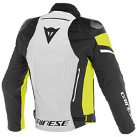 Dainese Racing 3 D-dry Giacca In Tessuto Giallo