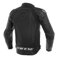 Dainese Racing 3 Leather Jacket Nero