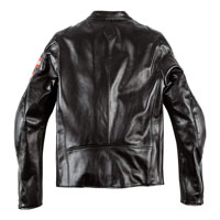 Dainese Rapida72 Perforated Leather Jacket Black