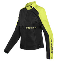 Dainese Ribelle Air Lady Jacket Black Yellow