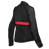 Dainese Ribelle Air Lady Jacket Black Lava Red