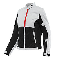 Giacca Donna Dainese Risoluta Air Grigio Rosso Donna