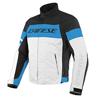 Dainese Saetta D-dry Jacket Blue White