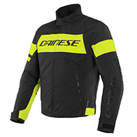 Dainese Saetta D-dry Jacket Yellow Black