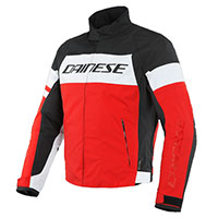 Dainese Saetta D-dry Jacket Red White