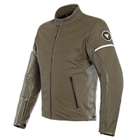 Dainese Saint Louis Leather Jacket Brown