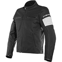 Dainese San Diego Perforated Leather Jacket Black