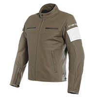 Dainese San Diego Leather Jacket Light Brown
