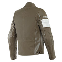 Blouson En Cuir Dainese San Diego Perforated Marron