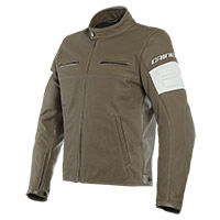 Dainese San Diego Perforated Leather Jacket Brown