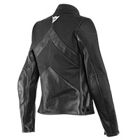 Dainese Santa Monica Air Lady Leather Jacket Black