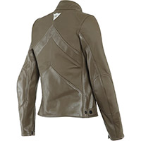 Dainese Santa Monica Lady Leather Jacket Brown