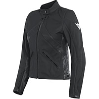Dainese Santa Monica Lady Leather Jacket Black