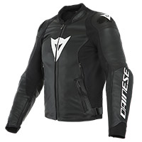 Giacca Pelle Dainese Sport Pro Nero Bianco
